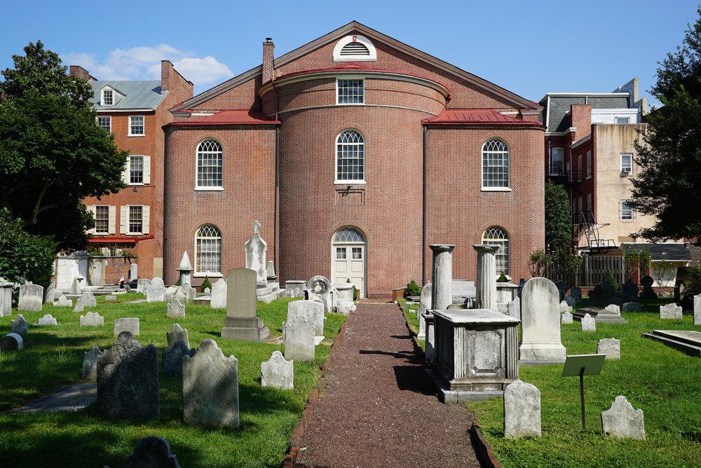 Old St. Mary Cemetery - Philadelphia, Pennsylvania.