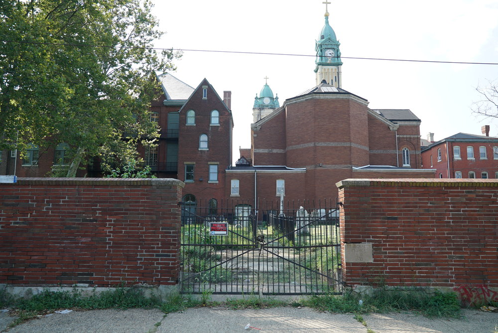 No easy access. St. Michael's Cemetery - Philadelphia, Pennsylvania.