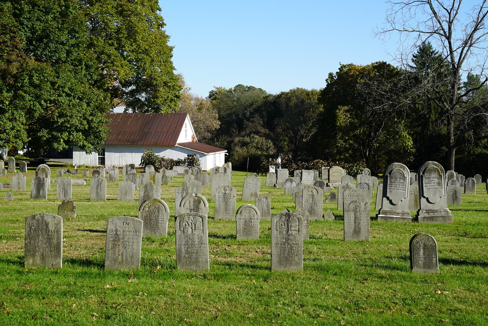 Oak Grove Cemetery. Parker Ford, Pennsylvania. October 30, 2018.