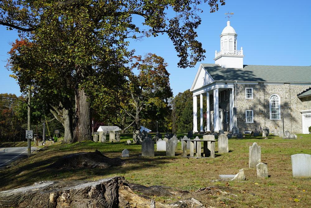 Middletown Presbyterian Church Cemetery. Delaware County, Pennsylvania. November 1, 2018.
