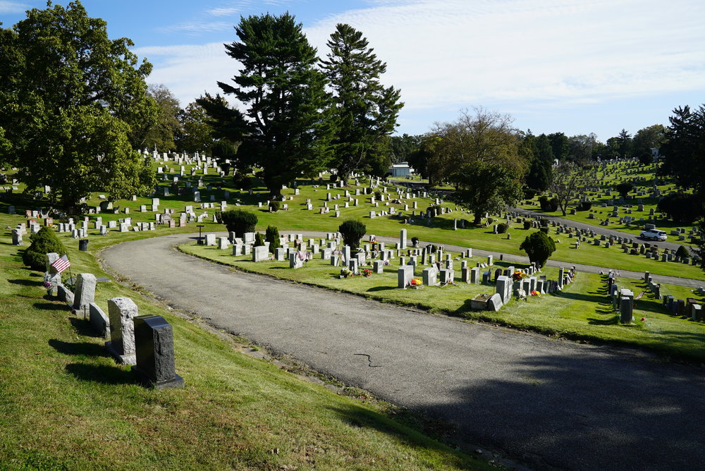 Westminster Cemetery. Bala Cynwyd, Pennsylvania. October 23, 2018.