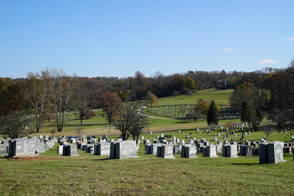 Calvary Cemetery. West Conshohocken, Pennsylvania.