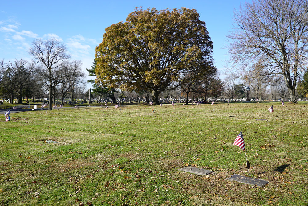 Lawn Croft Cemetery. Linwood, Pennsylvania. November 25, 2018.