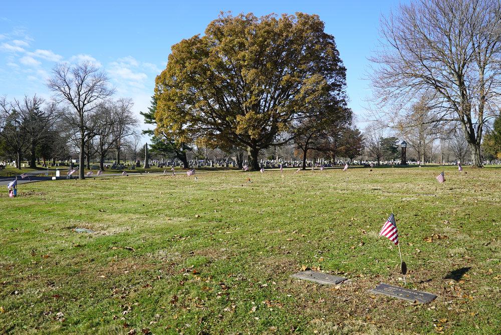 Lawn Croft Cemetery. Linwood, Pennsylvania. November 25, 2018.