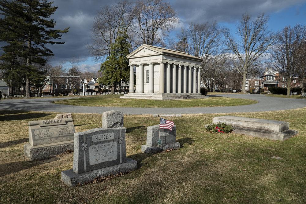 Chester Rural Cemetery.  Chester, Pennsylvania.