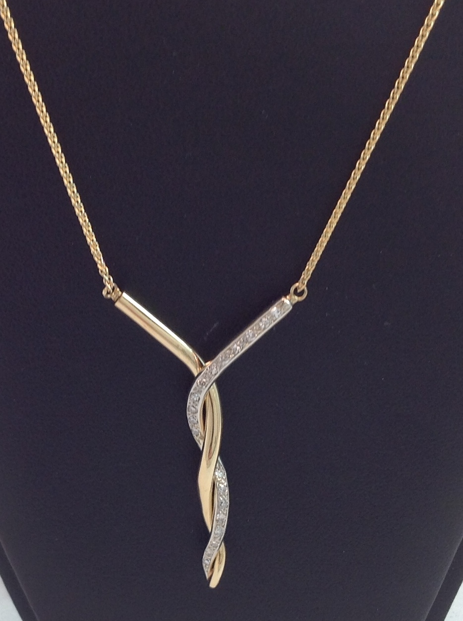 Estate Piece Diamond Necklace
