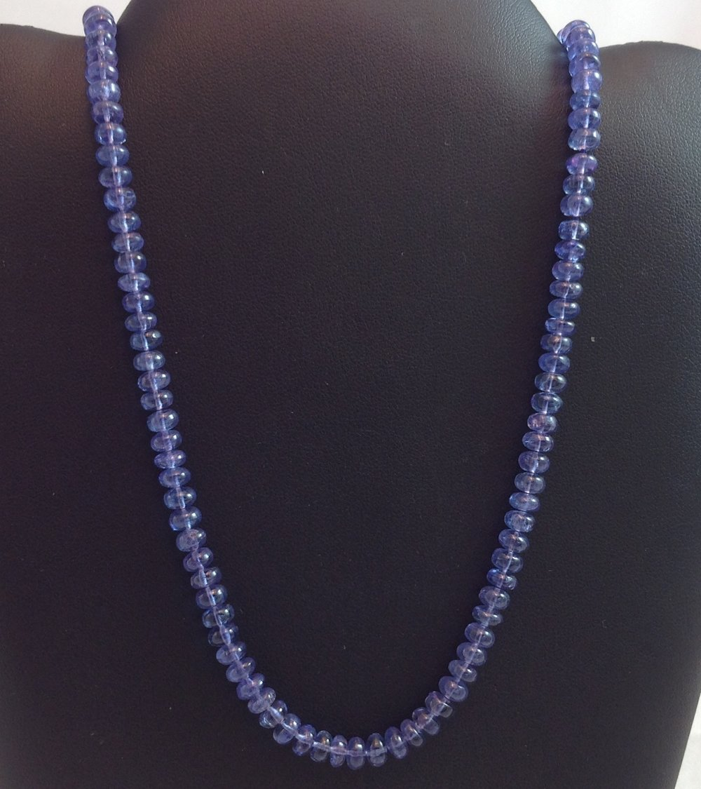 Strand of Tanzanite
