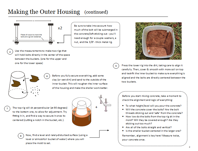 Instructions for diy-building a sheller