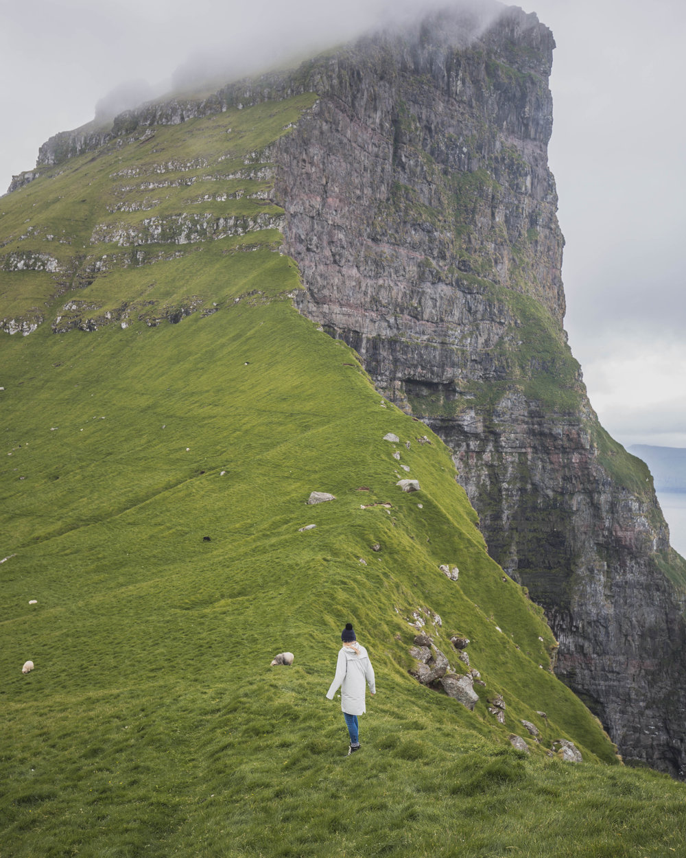 Kalsoy lighthough faroe islands itinerary
