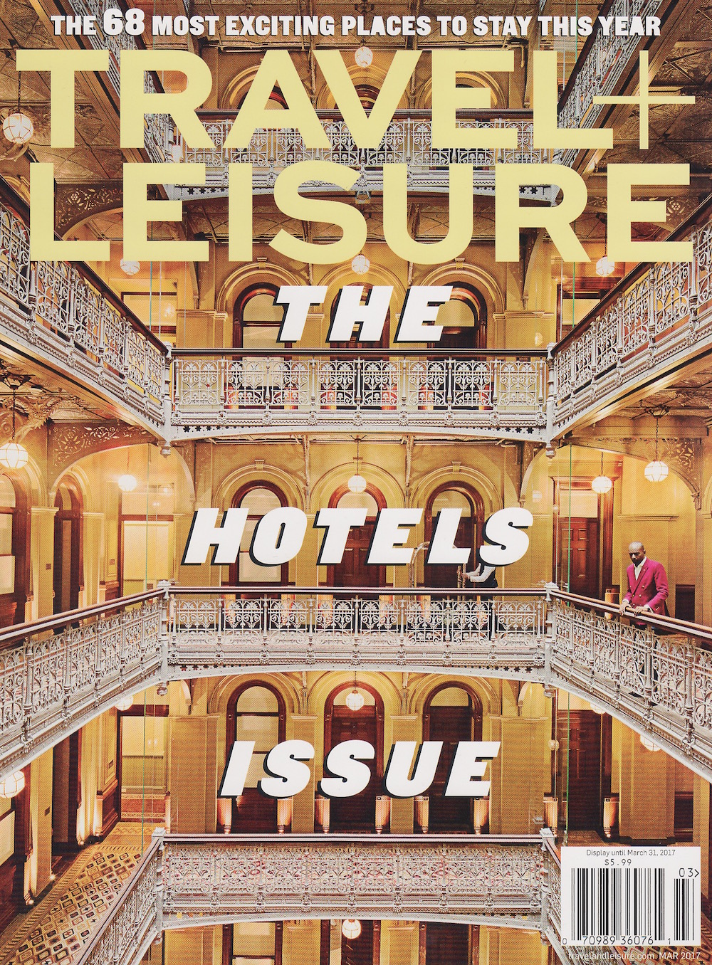 Travel + Leisure March 2017