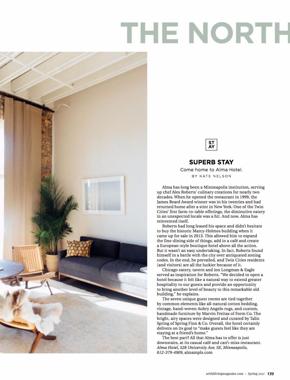 Artful Living, Spring 2017 Issue