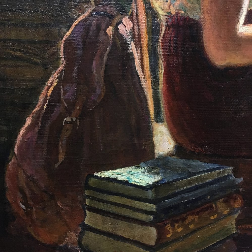 spring finn and co russian art museum minneapolis soviet children oil painting russian painting details soviet backpack soviet books