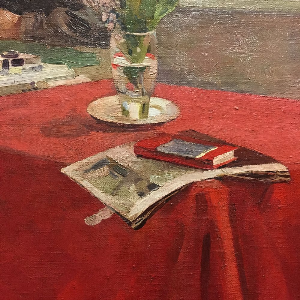 spring finn and co russian art museum minneapolis soviet children oil painting russian painting details red russian book soviet nature morte
