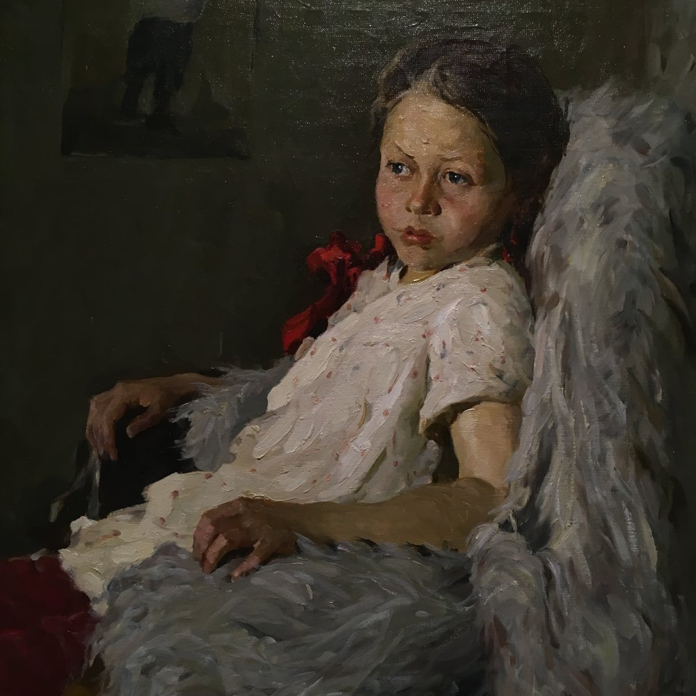 spring finn and co russian art museum minneapolis soviet children oil painting russian painting details soviet nature morte young soviet girl portrait