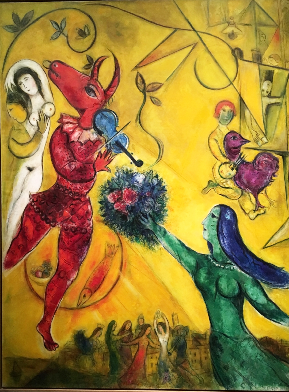 Chagall fantasies for the stage lacma talin spring springfinnandco set design costume design