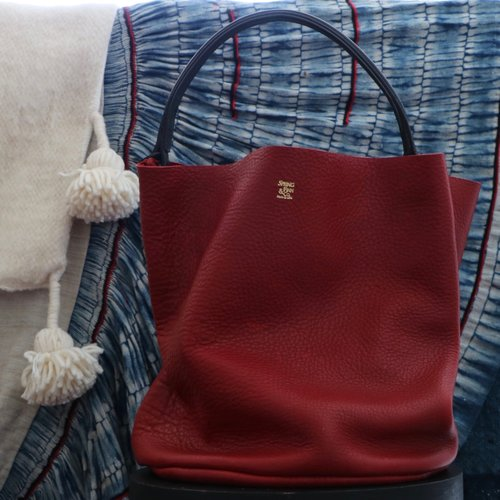 4131717d8 Red Bucket Bag Camargue Rouge ...