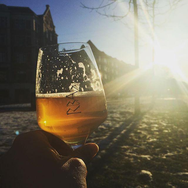 Kom ned og nyd vintersolen og en kold øl på boulevarden 🍻☀️