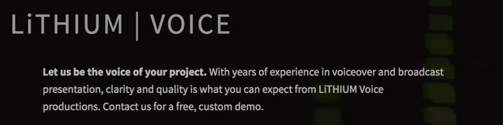 Copy of Voice Intro