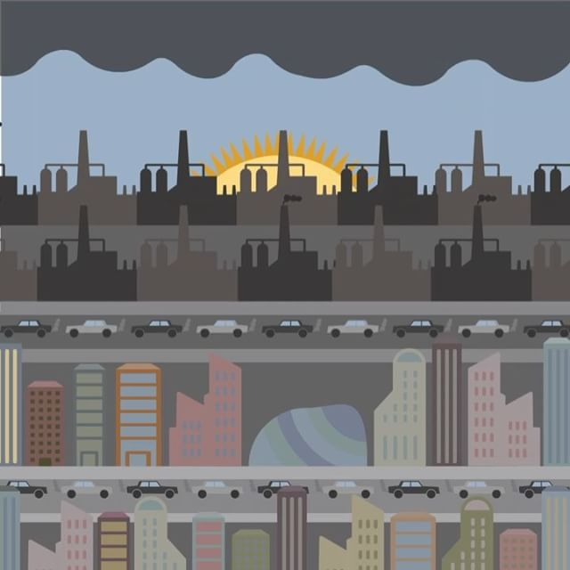 The Future? 🌆📉 #design #animation #anthropocene #goldsmiths #hyphenshow #badesign #art #future #utopia #green #enviroment #enviromentalism #colourful #theanthropocene #2117 #designer #creative #art #animate #adobe #adobe #creativecloud #illustrator #adobeillustrator #hyphen #apple #mac  #graphic #graphicdesign #graphics