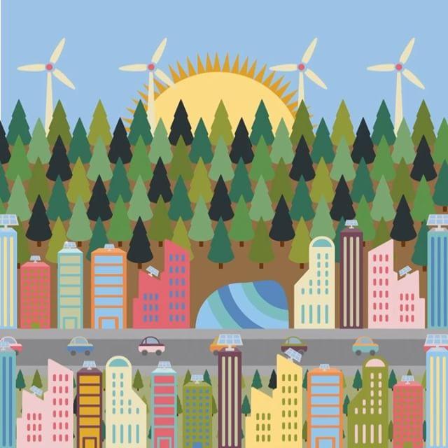 The Future? 🏙📈 #design #animation #anthropocene #goldsmiths #hyphenshow #badesign #art #future #utopia #green #enviroment #enviromentalism #colourful #theanthropocene #2117 #designer #creative #art #animate #adobe #adobe #creativecloud #illustrator #adobeillustrator #hyphen #apple #mac  #graphic #graphicdesign #graphics