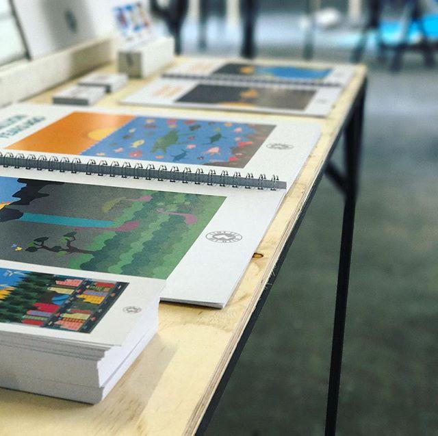 Ready for degree show 🙌🏻🎉 #design #designstudent #goldsmiths #hyphenshow #hyphen #anthropocene #degreeshow #book #graphics
