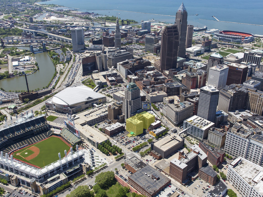 cleveland aerial helicopter shot rico pietro sior