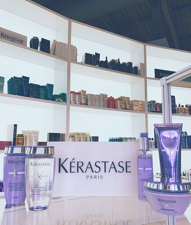 Today, our stylists learned all about the newest launch from our @kerastase_official family!  Blondes, you're in luck.  Look for it on the shelves soon!  #kerastase #welovekerastase #productlaunch #annarborsalon #trichosalonandspa #blondabsolu #ultraviolet #blondes #blondehair #comingsoon #briarwoodmall #new #healthyhair #trichoa2 #annarbor #hair #productknowledge #annarborhair #excited