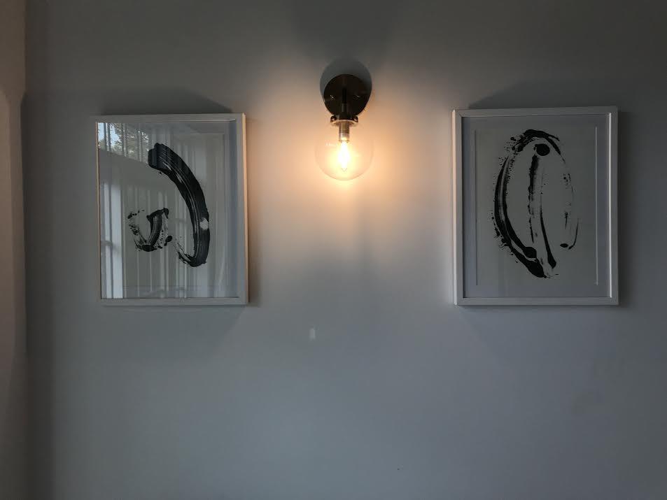 Monoprint I & II in the 'NOOKLYN showroom