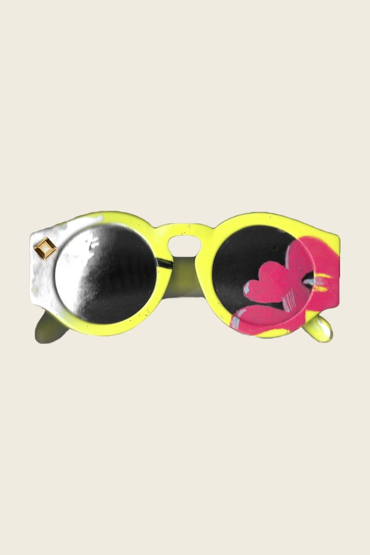 UNAUTHORIZED - Karen Walker - Blue Moon Sunglasses