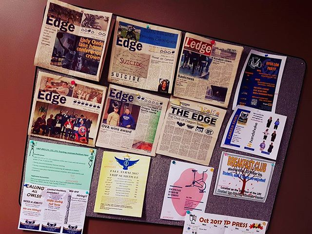Have you heard? The Edge has the word! And we'd like to share it with you. Keep an eye out for our latest issue later this month! #oregontech #theedge #oit