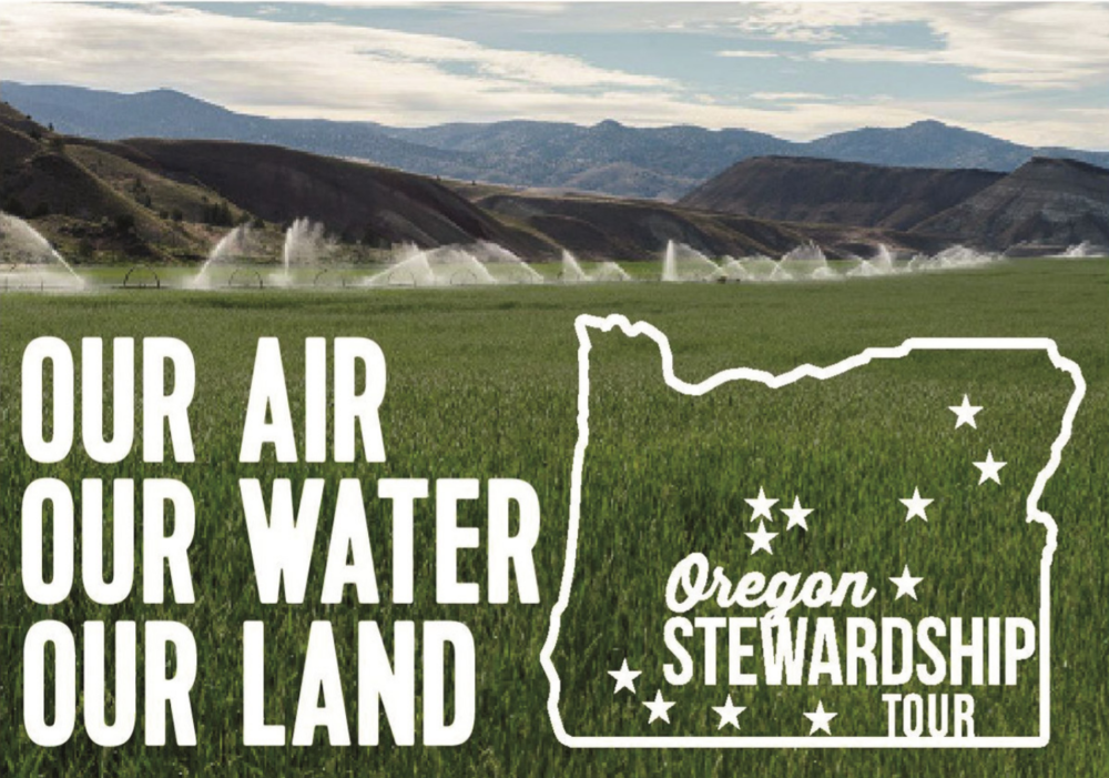 Flier for the Oregon Stewardship Tour, Photo courtesy CCL
