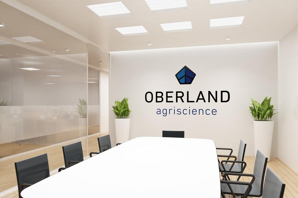 Oberland Agriscience branded boardroom
