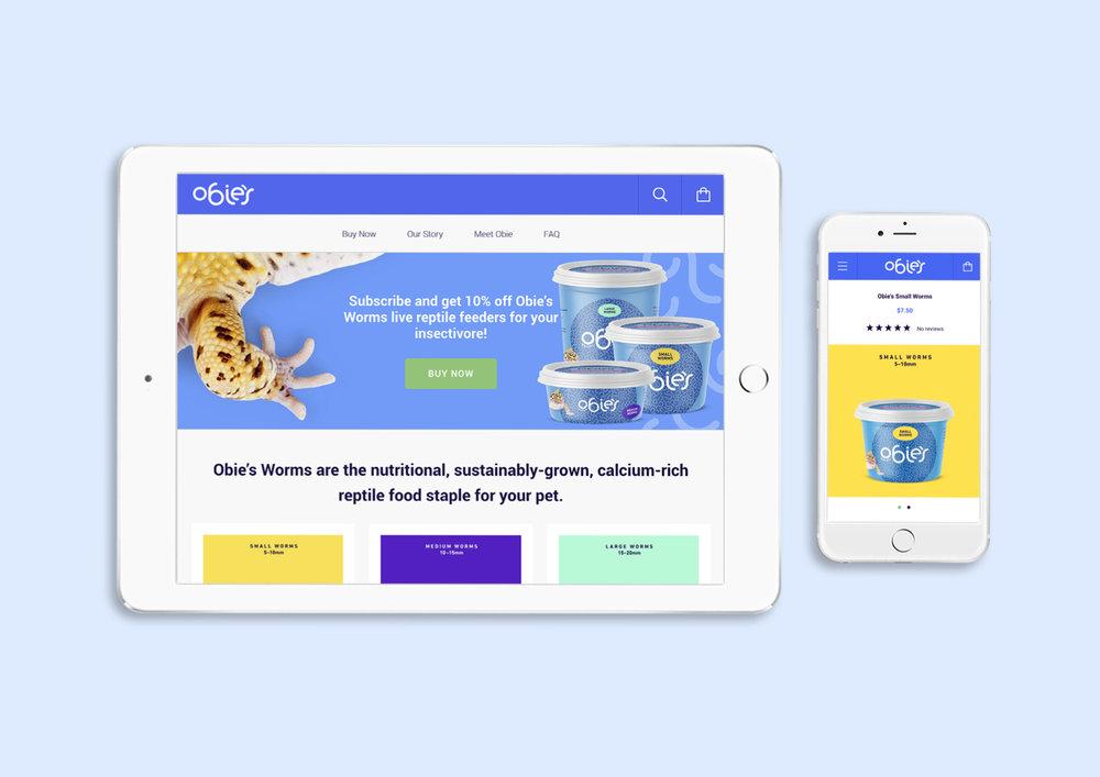 R&G Strategic, Obie's worms, online, ecommerce