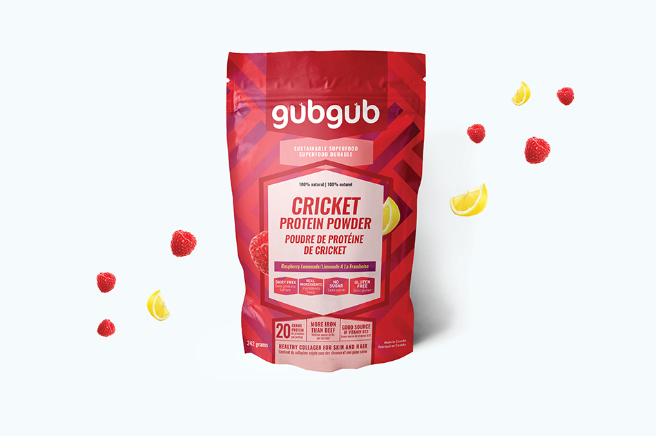 gubgub Cricket Protein Packaging
