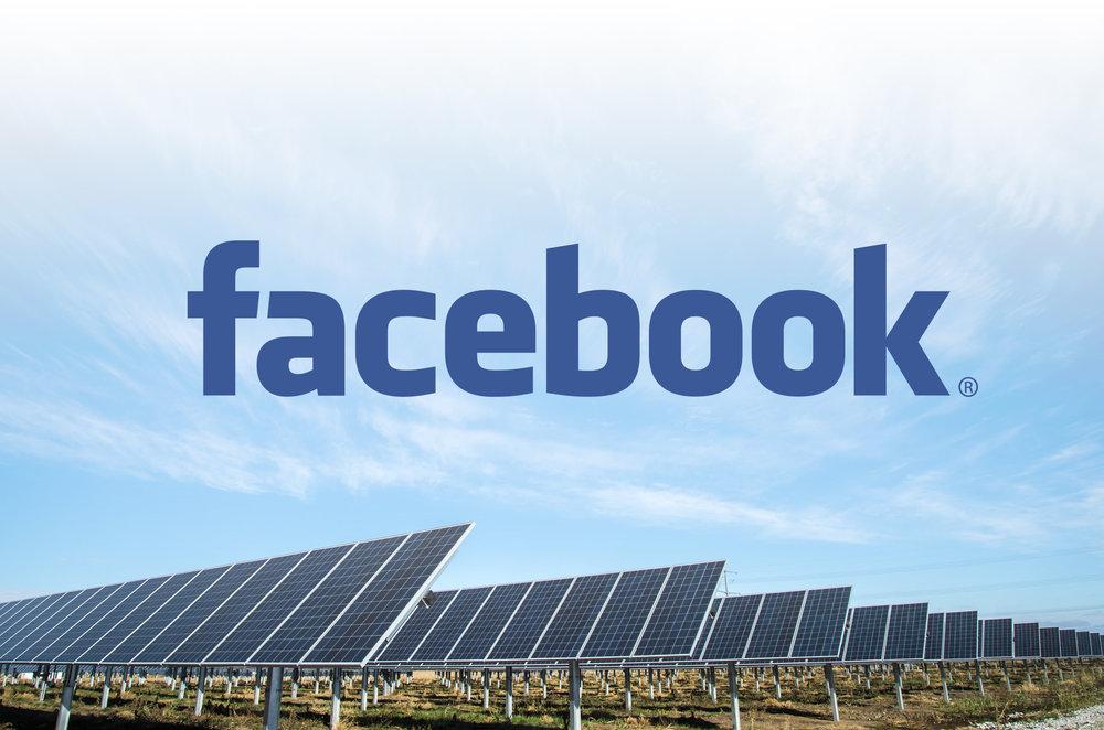 Facebook goes solar