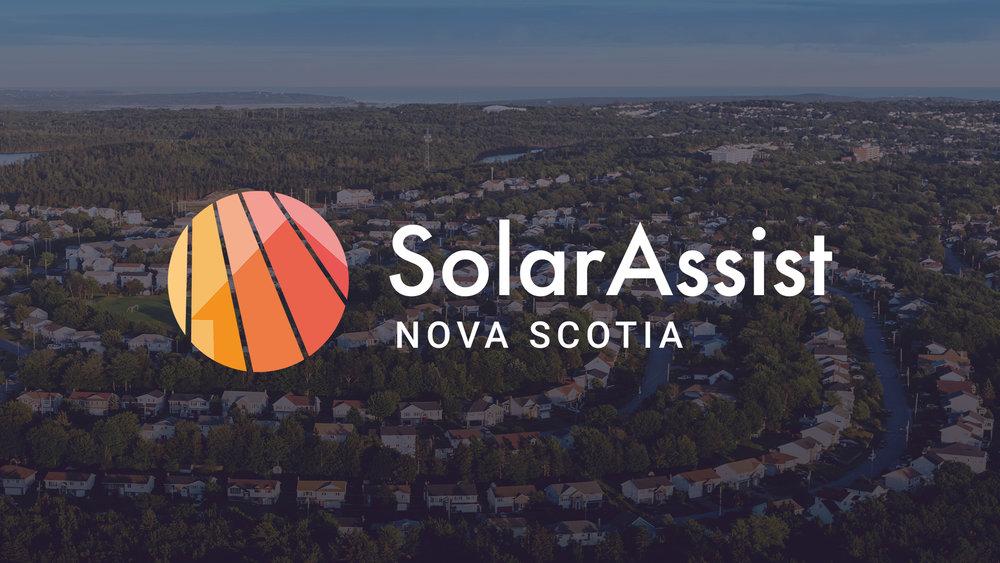 SolarAssist Nova Scotia Logo