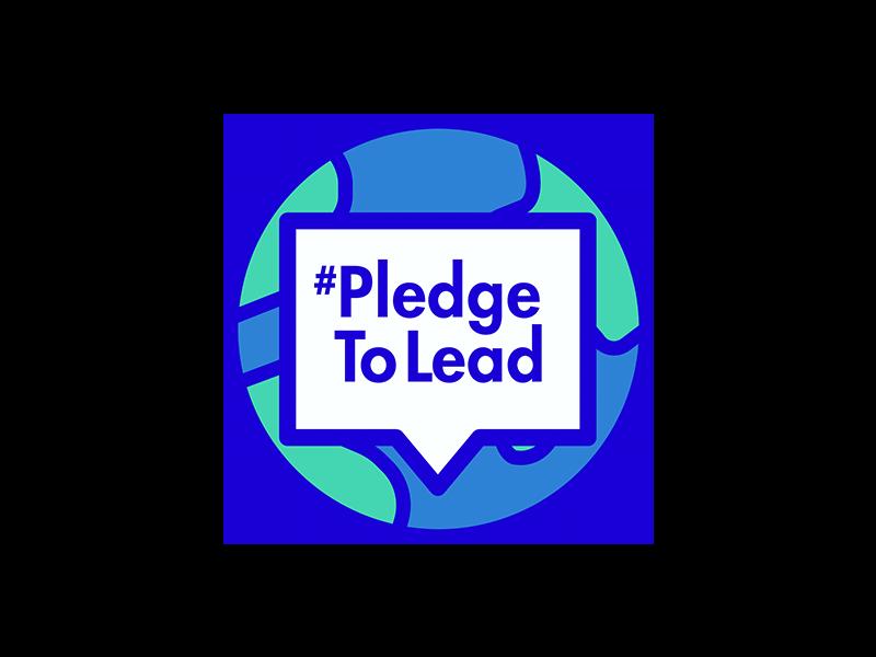#PledgeToLead