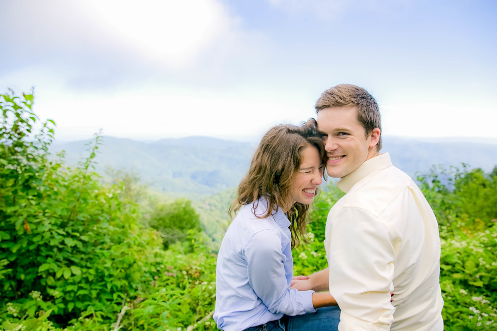 Roan Mountain Carver's Gap engagement session, Appalachian Trail engagement, East Tennessee mountain engagement photography, East Tennessee weddings, Tri Cities TN photography, NC wedding photography