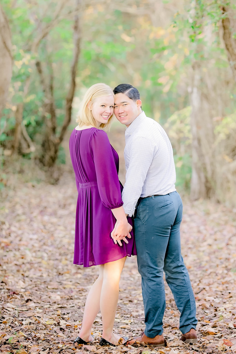 Johnson City, TN sunrise engagement session, East Tennessee wedding photography, Tri Cities engagement photography, military couple