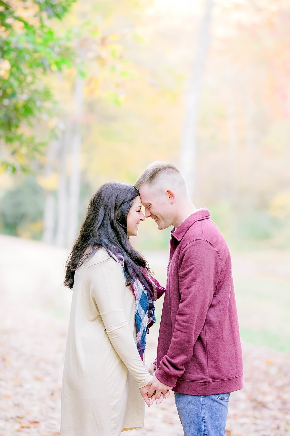 Doe River Gorge fall engagement session, East Tennessee engagement photography, Johnson City wedding photographer, East Tennessee photographer