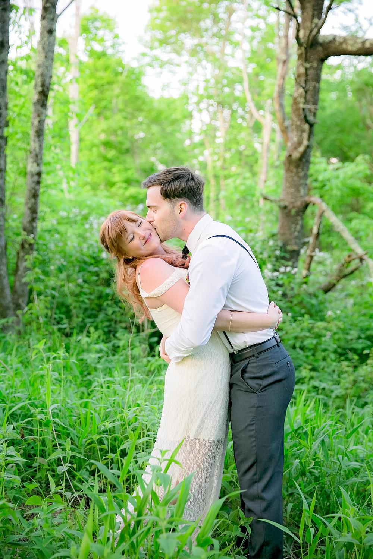 Beauty Spot Roan Mountain wedding, Appalachian Trail engagement, East Tennessee wedding photography, East Tennessee mountain wedding, bride and groom portrait