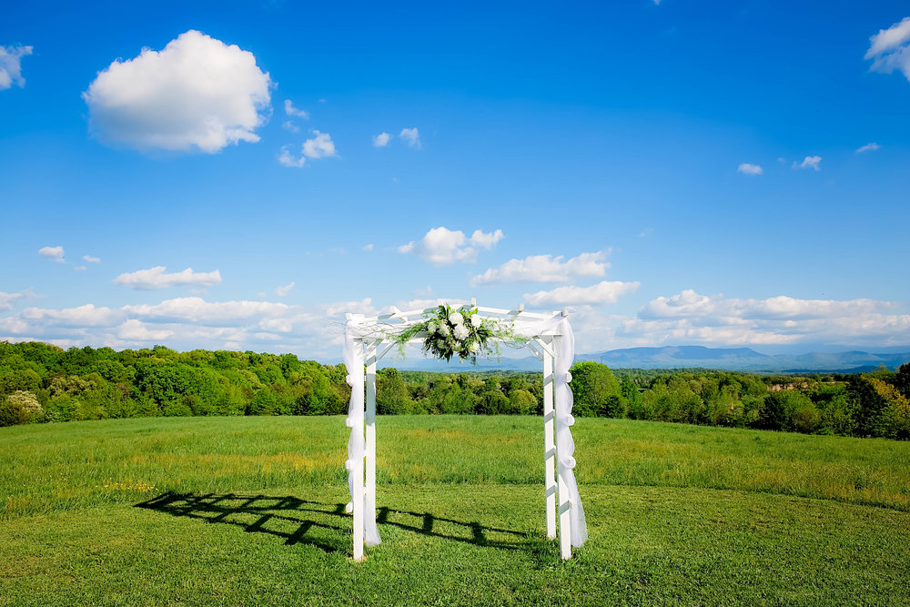 Colley Hill Farm, Dandridge TN wedding venue, East Tennessee wedding photography, styled wedding shoot, ceremony setup, East Tennessee wedding venue