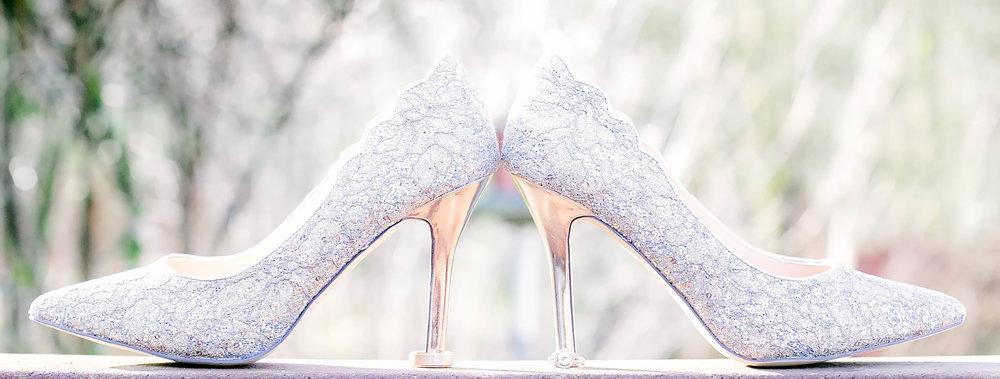 Wedding shoes, bridal shoes, wedding details