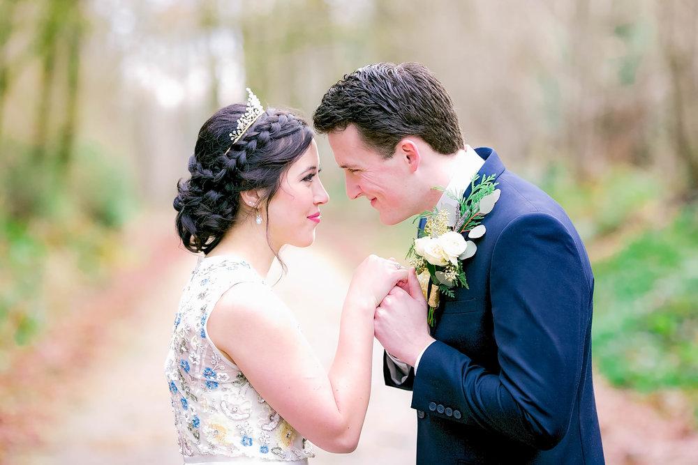 Johnson City, TN wedding photography, bride and groom