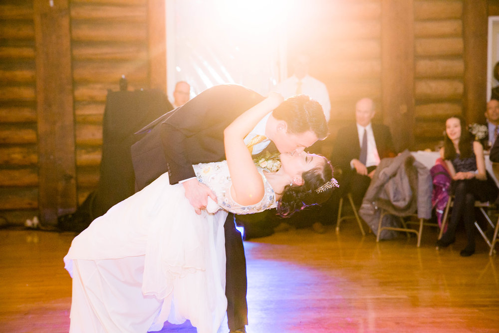 First dance bride and groom wedding