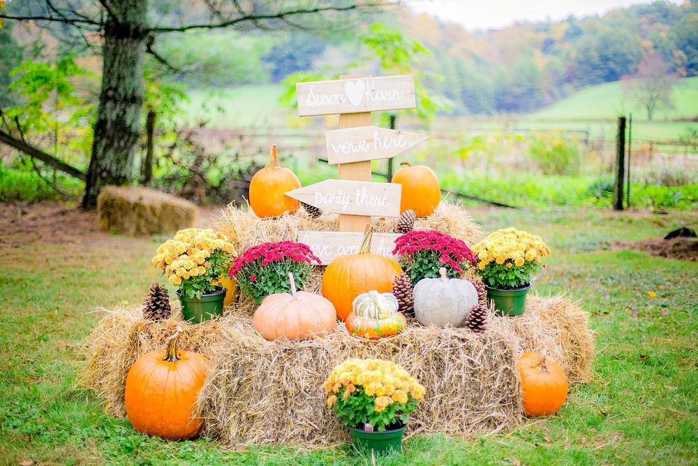 Mountain City, TN farm wedding, East Tennessee fall wedding, Tri Cities Wedding, venue details