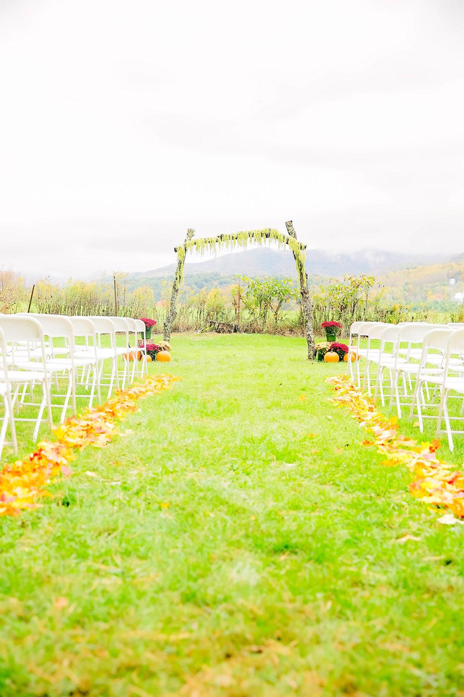 Mountain City, TN farm wedding, East Tennessee fall wedding, Tri Cities Wedding, ceremony site