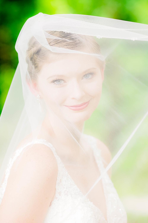 Hot Springs, NC wedding, East Tennessee Wedding photography, bridal portrait, veil