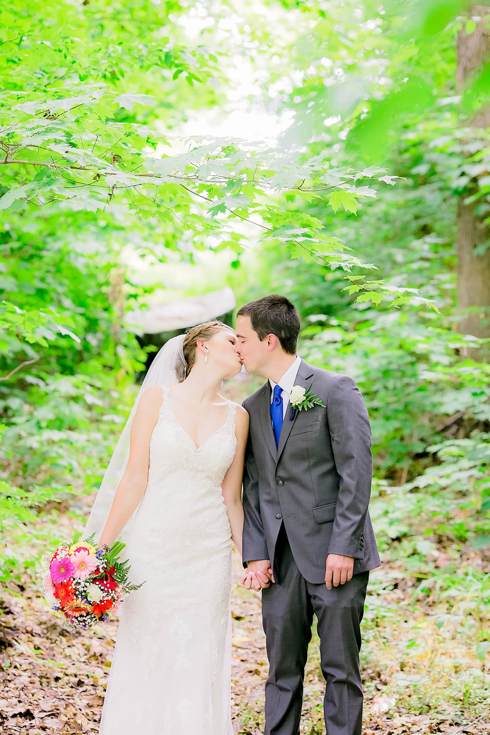Hot Springs, NC wedding, East Tennessee Wedding photography, bride and groom portrait