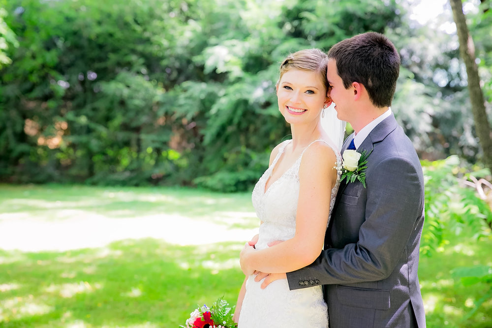 Hot Springs, NC wedding, East Tennessee Wedding photography, bride and groom talking
